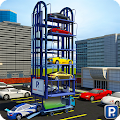 Smart Car Parking Crane 3D Sim