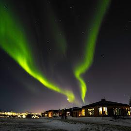 our hotel outside Reykjavik feb 2015. by Ian Calland - Uncategorized All Uncategorized