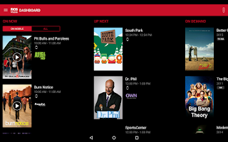 Screenshot of Verizon FiOS Mobile