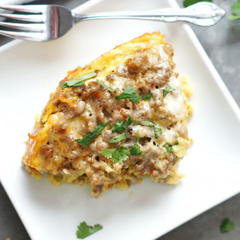 Slow Cooker Mexican Brunch Bake