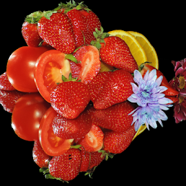 fruits,vegetables and flowers by LADOCKi Elvira - Food & Drink Fruits & Vegetables ( fruits, vegetables, flowers )