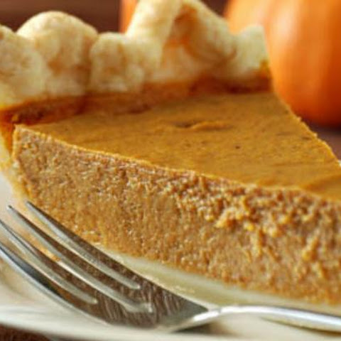 Dairy-free, Low-fat Pumpkin Pie
