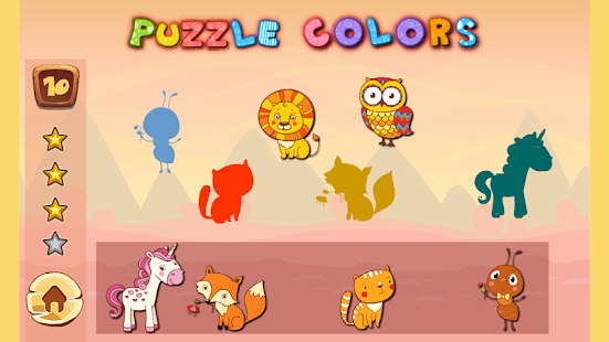 123 Learning toddlers puzzles- screenshot