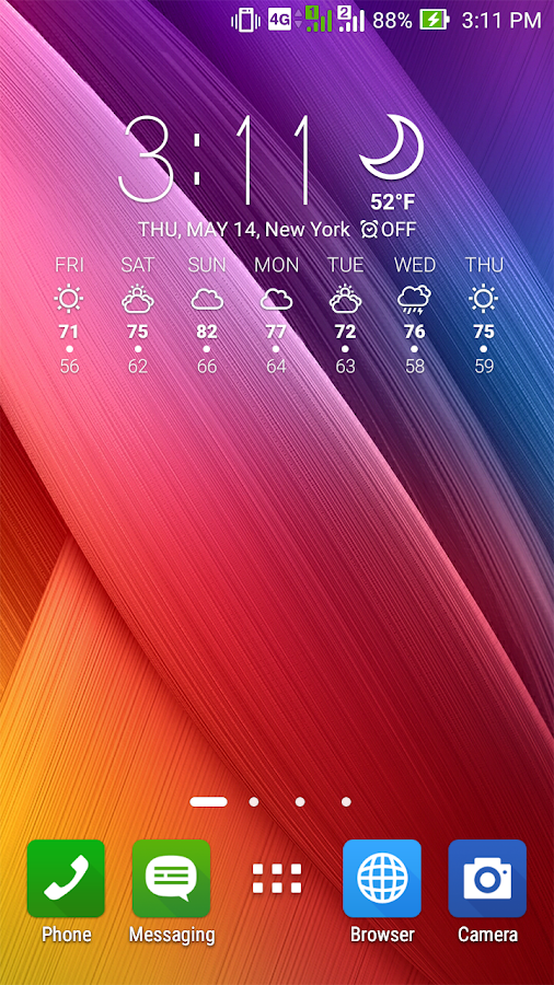 ASUS Weather Screenshot 2