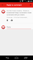 Screenshot of YouTube Creator Studio