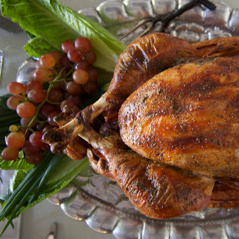 Cane-Brined Roast Turkey