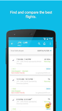 Skyscanner APK screenshot thumbnail 1