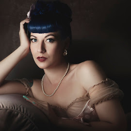 Classical by Peter Driessel - People Portraits of Women