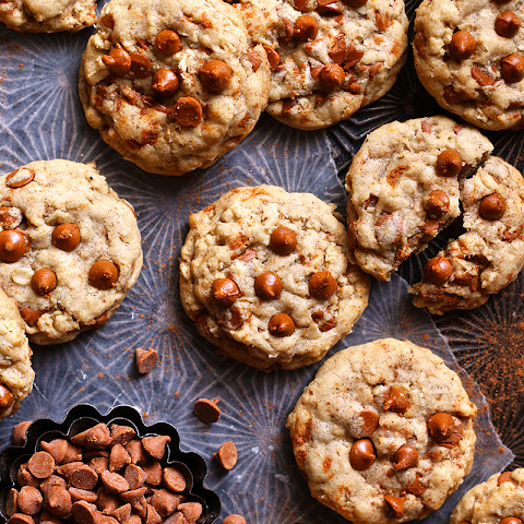 Brown Butter Oatmeal Cinnamon Chip Cookies