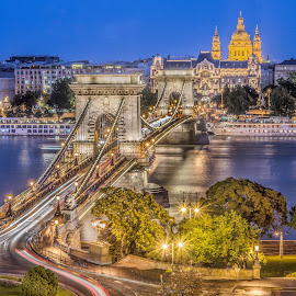 Scenery of Budapest by Gabriel Konde - Buildings & Architecture Bridges & Suspended Structures