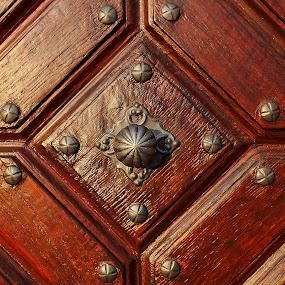 kování dveří kostela by Vláďa Lipina - Artistic Objects Other Objects