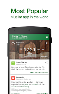 Free Muslim Pro - Prayer Times, Azan, Quran & Qibla APK for Windows 8