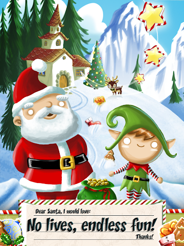 android Xmas Swipe Screenshot 7
