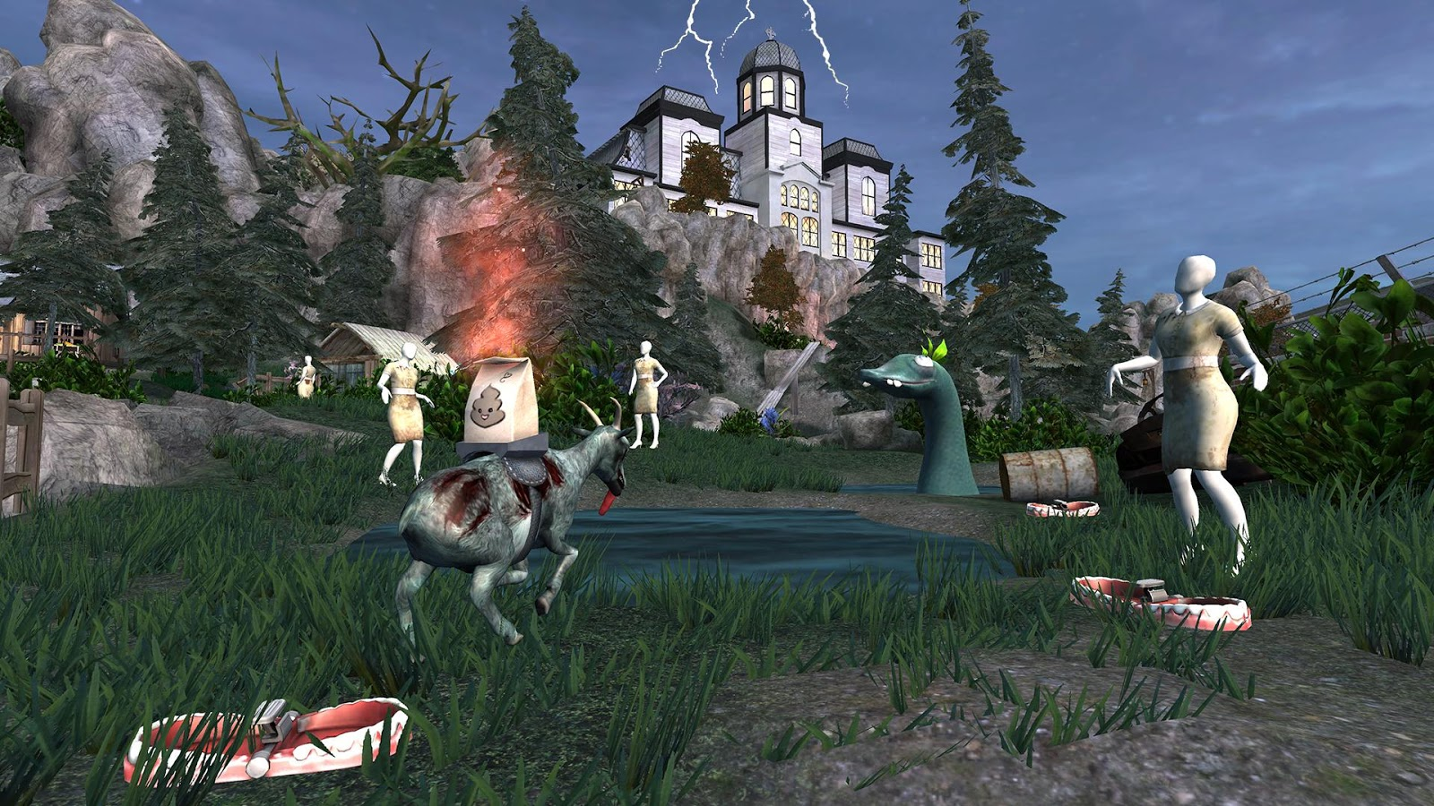 Goat Simulator GoatZ Screenshot 8