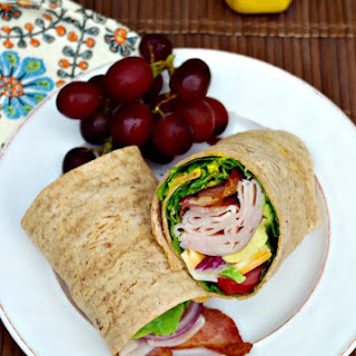 Turkey Wrap with Honey Mustard Sauce