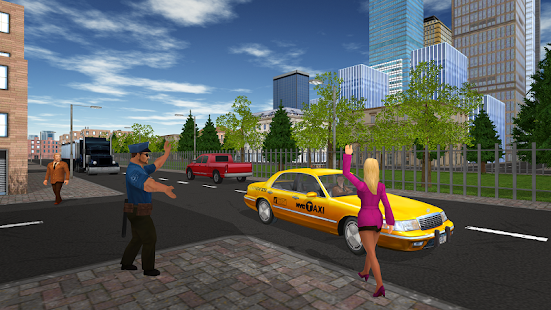 Taxi Game APK for Bluestacks