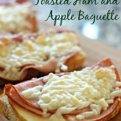 Toasted Ham and Apple Open-Faced Sandwiches
