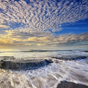 Cover Up by Hendri Suhandi - Landscapes Cloud Formations ( clouds, nature, sunset, stone, sea, holidays, rock, sunrise, beach, landscape )