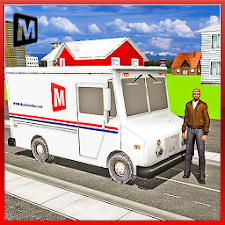 TRANSPORT TRUCK: MAIL DELIVERY