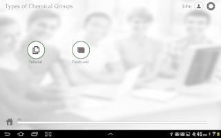 Screenshot of Grade 12 Chemistry