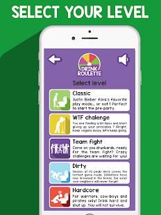 Drink Roulette - Drinking App Wheel games APK for Bluestacks