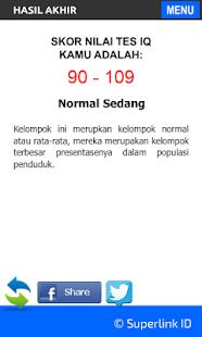 Tes IQ & Tes Psikologi- screenshot thumbnail