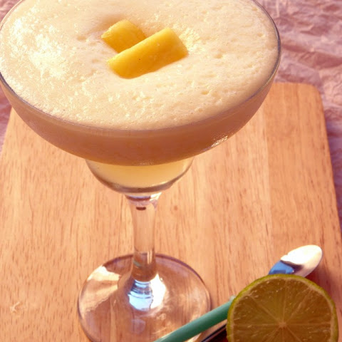Frozen Pineapple Coconut Daiquiri