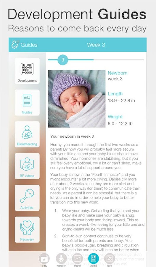 Baby + : your baby tracker Screenshot 11