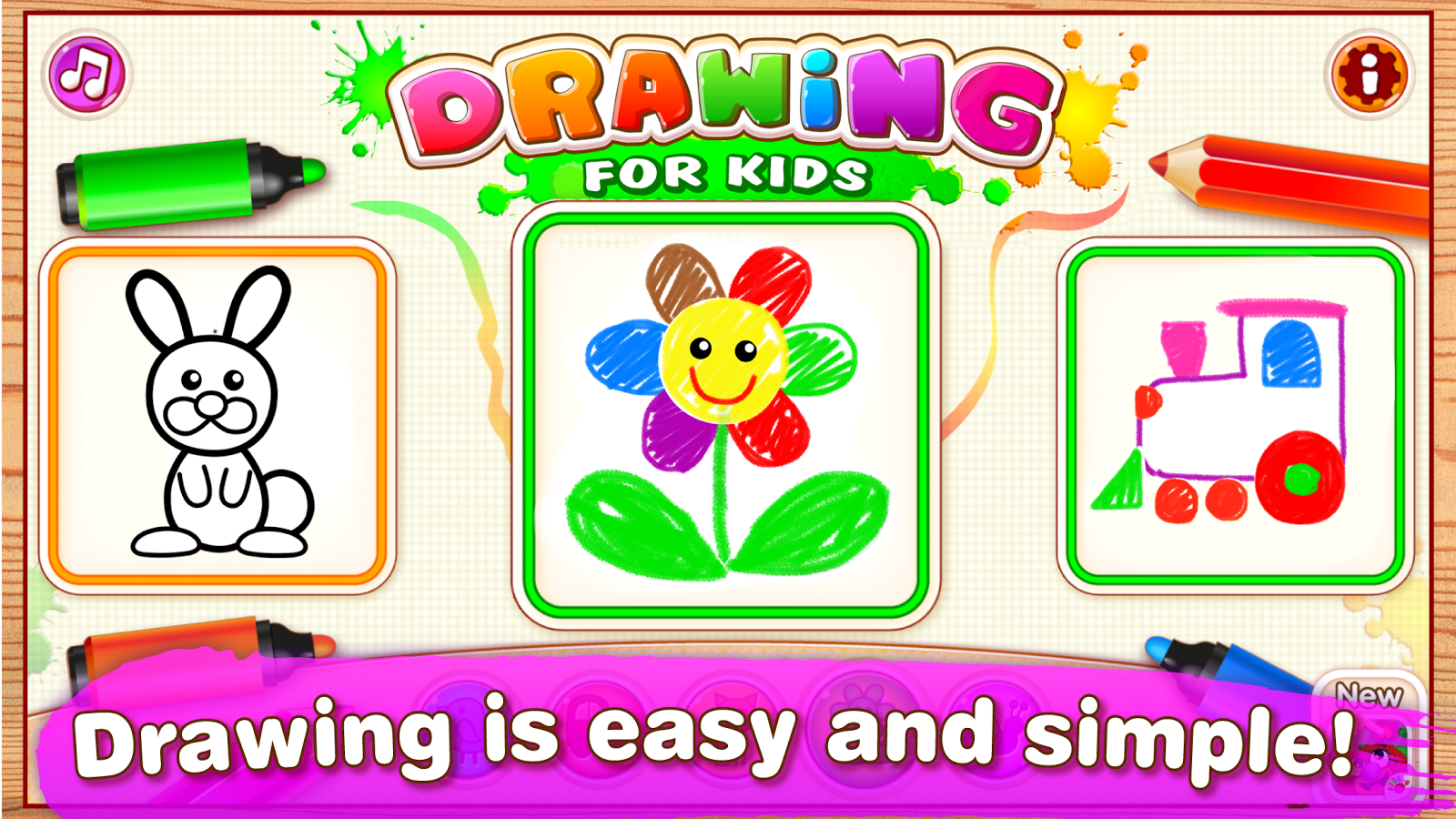 Drawing for Kids and Toddlers. Screenshot 10