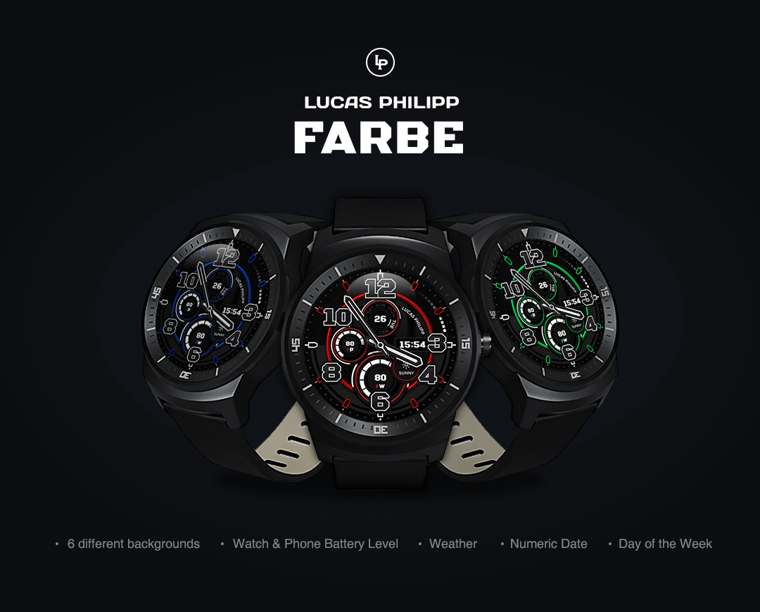 Farbe watchface by LucasPhilip Screenshot 0
