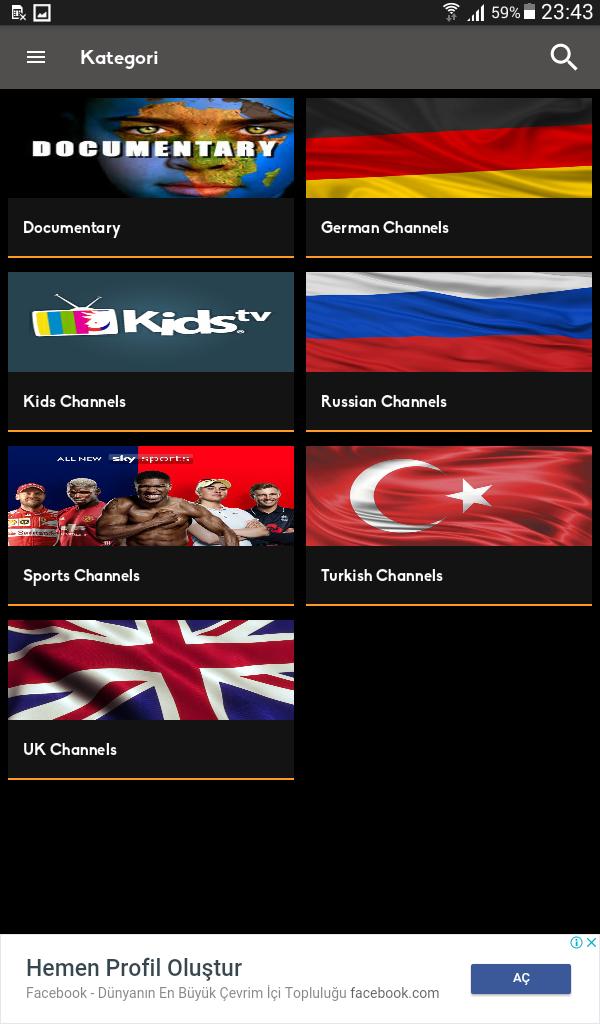 Mobil Android TV Screenshot 6