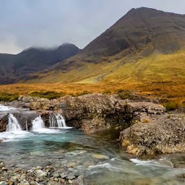Fairy Pools, Glen Brittle by Dawn Westwood - Landscapes Mountains & Hills ( mountain, waterfall, isle of skye, river )