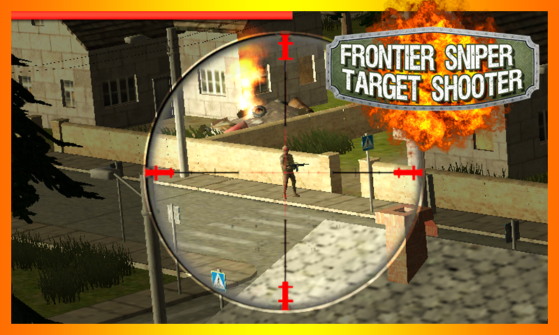 android Frontier Sniper Target Shooter Screenshot 1
