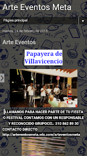 Arte Eventos - screenshot