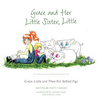 Grace, Little and Their Pot Bellied Pigs