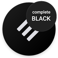 Swift Black Substratum Theme Oreo amp Samsung theme pour PC (Windows / Mac)