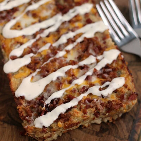 Chicken Bacon Ranch Meatloaf