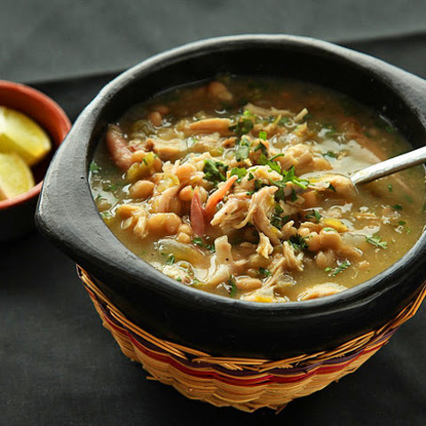 White Chili with Roast Turkey or Chicken