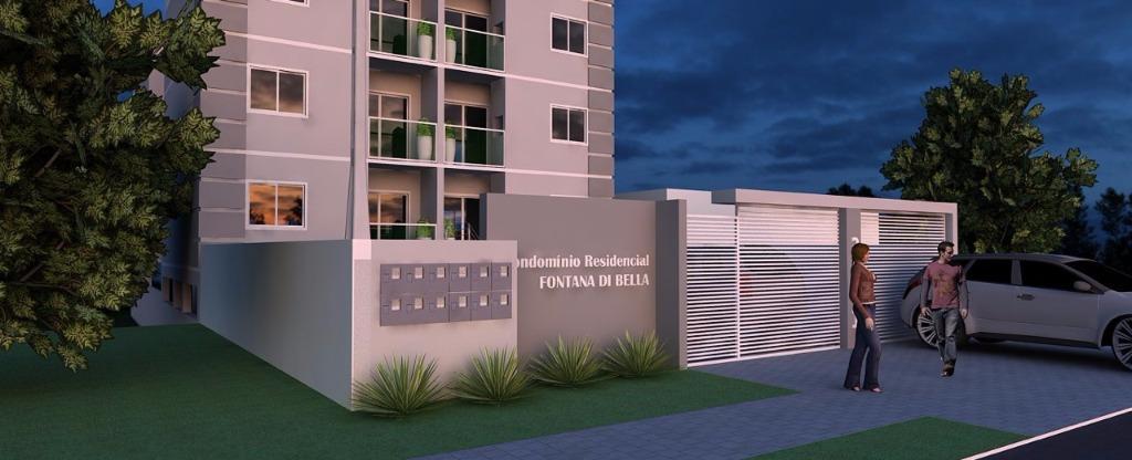 Apartamento residencial à venda, Fazenda Velha, Araucária.