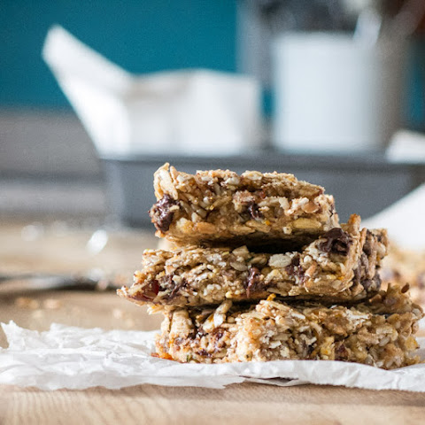 Nut-Free Granola Bars #vegan