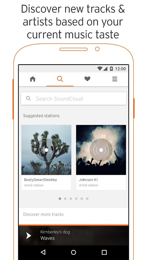 SoundCloud - Music & Audio Screenshot 0