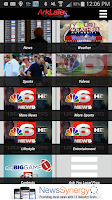 Screenshot of KTAL NBC 6 ArkLaTexHomepage