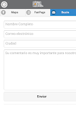 Screenshot of Codigo Postal Colombia
