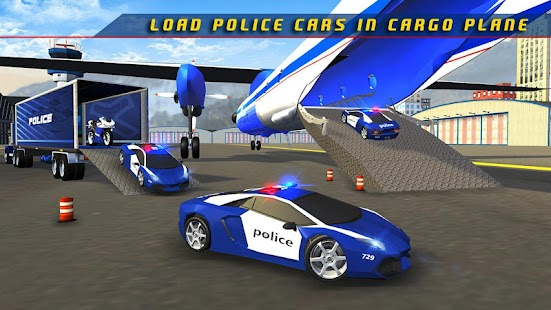 Game Police Plane Transporter Game APK for Kindle