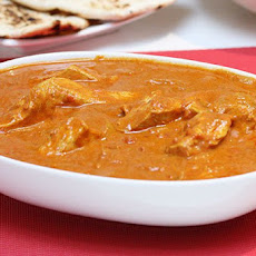 Indian Butter Chicken with Rice