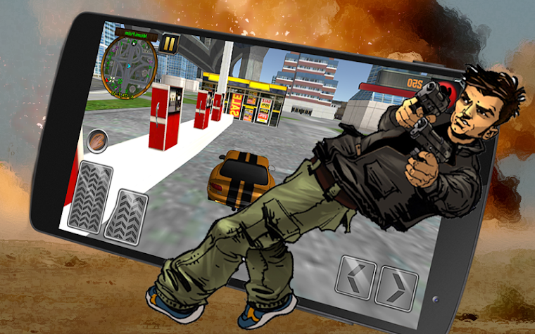 🔫Grand Vegas City Gangster 3D Screenshot