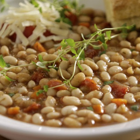 Tomato and Herb White Beans
