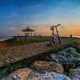 .:: blue hour ::. by Setyawan B. Prasodjo - Transportation Bicycles