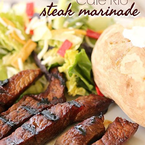 Cafe Rio Steak Marinade