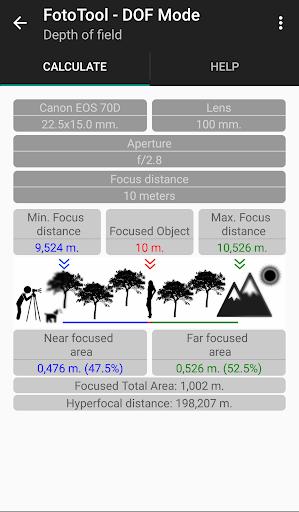 FotoTool - Photography DONATE - screenshot